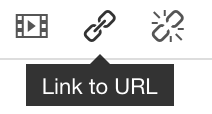 How to use the Link to URL button function example